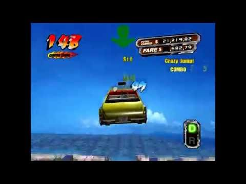 Crazy Taxi 3 Mental record ($210,343.00)(333 costumers)