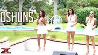 ¡El trío Oshuns desmuestran su talento!   Casa de Jueces   Factor X Bolivia 2018