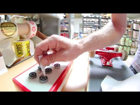 Superglue Bearings Skateboard Prank!