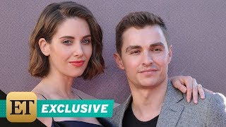 EXCLUSIVE: Alison Brie Jokes She Can Put Husband Dave Franco in a 'Headlock' After Filming 'GLOW'