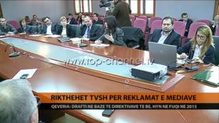 Ligji i ri për TVSH-në - Top Channel Albania - News - Lajme