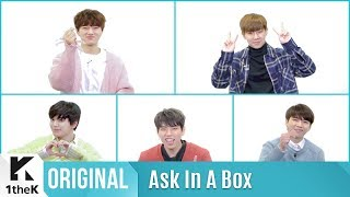 ASK IN A BOX(에스크 인 어 박스): INFINITE(인피니트) _ Tell Me