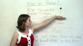Grammar Mistakes - RISE or RAISE?