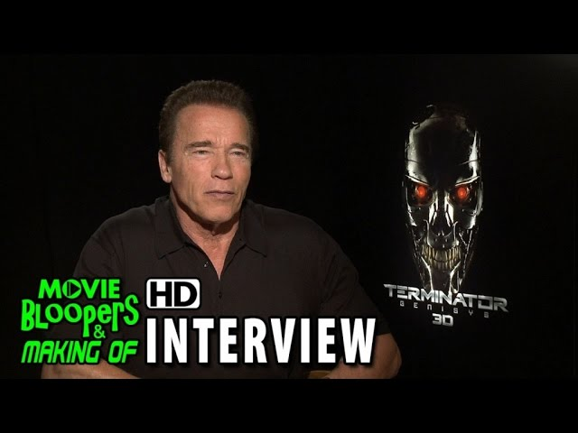 Terminator Genisys (2015) Official Movie Interview - Arnold Schwarzenegger