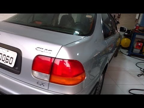 Honda Civic LX 1998 - Revisão numa Jóia com 79 mil km (Dica de Fluído da Embreagem)