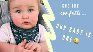 Our baby is 1! || Promoted to big brother!