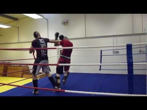 Kickboxing drills and sparring - Terry Valler JKD & MMA Academy Image 1
