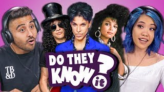 DO COLLEGE KIDS KNOW 80s MUSIC? #10 (REACT: Do They Know It?)