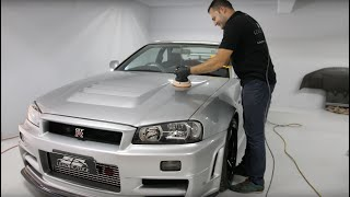 Original Nismo Z-Tune Nissan R34 GTR - Chassis #001 - Detailing Perfection IGL Kenzo Ceramic Coating