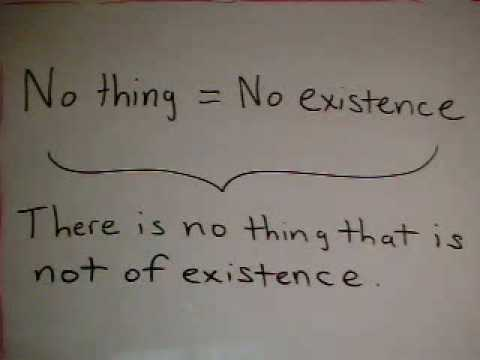 What is Existence?