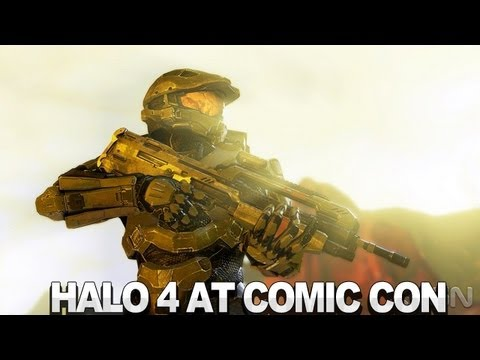 Halo 4 - Comic-Con 2012 Wrap Up