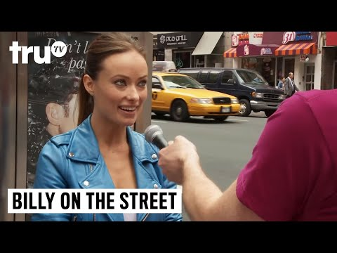 "Billy on the Street - ""John Mayer or Pepe Le Pew?"" with Olivia Wilde"