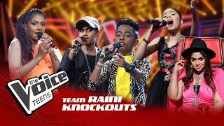Team Raini | Knockouts | The Voice Teens Sri Lanka
