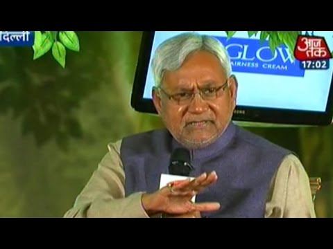 Agenda Aaj Tak: Former CM Nitish Kumar on changes in Bihar politics