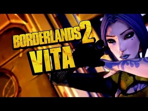Borderlands 2 Vita - Full Intro - Gameplay
