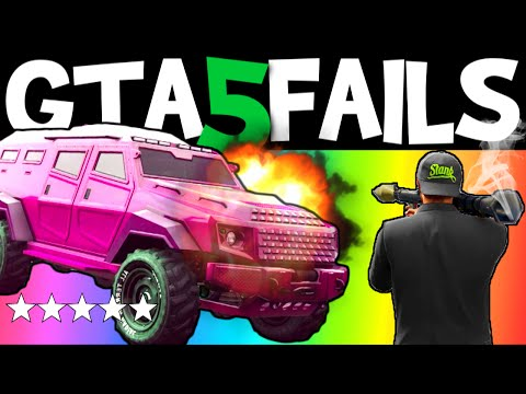 GTA 5 FAILS – EP. 19 (Funny Moments Compilation Online Grand Theft Auto V Gameplay)