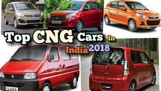 Best CNG CARS in INDIA 2018 !! CNG CARS IN INDIA 2018