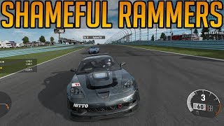 Forza 7:  Shameful Ramming Attempts