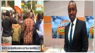Citizen TV Hassan Mugambi On Slapping His Colleagues DusitD2 complex [VIDEO]