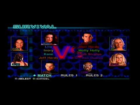 WWF SmackDown! Just Bring It - 8-Man Battle Royal [ Survival ] thumbnail