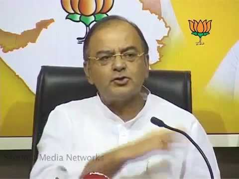 BJP Press: Gujarat Election 2012: Sh.  Arun Jaitely: 15.12.2012