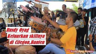 Rusdy Oyag keluarkan skillnya di Cilegon,Banten