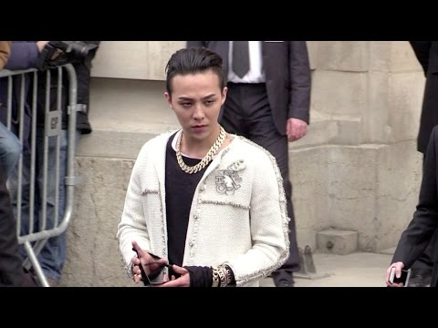 G-dragon And More Attending Chanel Haute Couture In Paris video