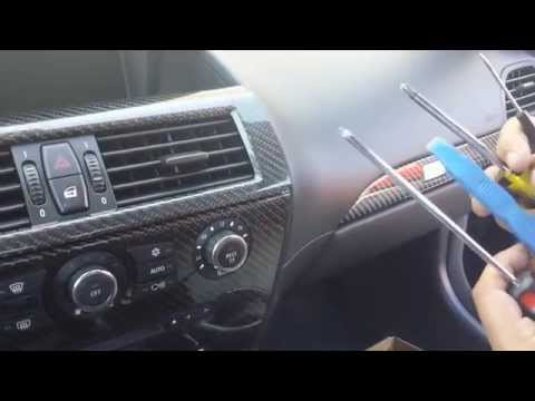 How To Remove Navigation / Radio / CCC unit from BMW 645 for Repair