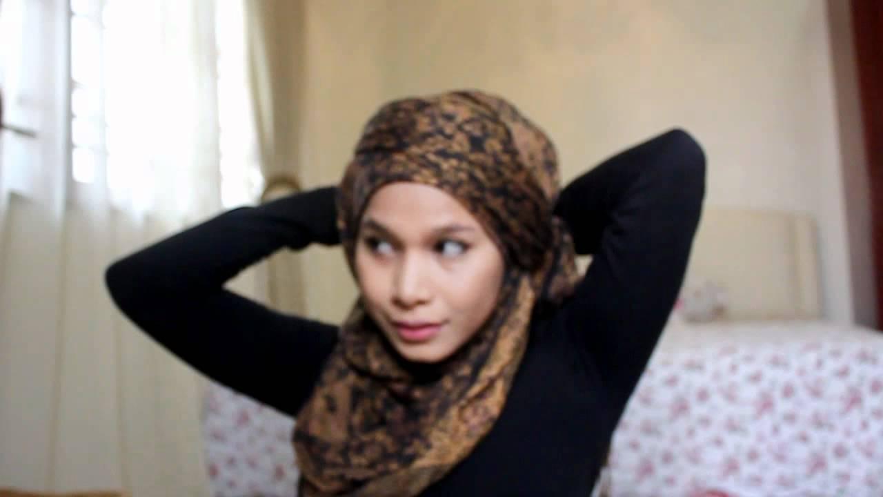 Hijab Tutorial Turban Style Youtube