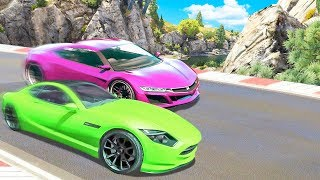 GF vs. BF on GTA 5 RACES!