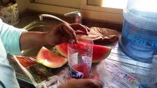 How to make melon juice without power
