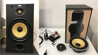 B&W DM601 (Bowers And Wilkins) - A Look Inside