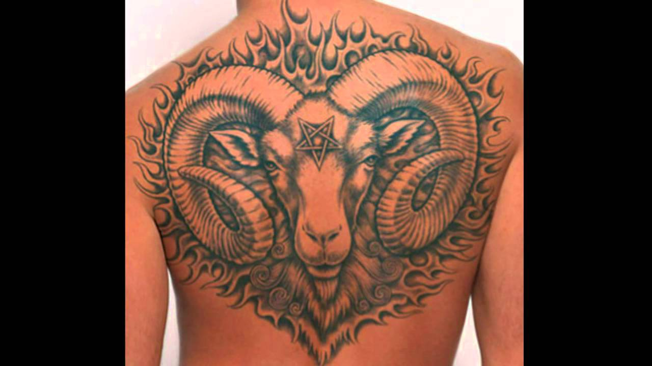 Aries tattoo designs