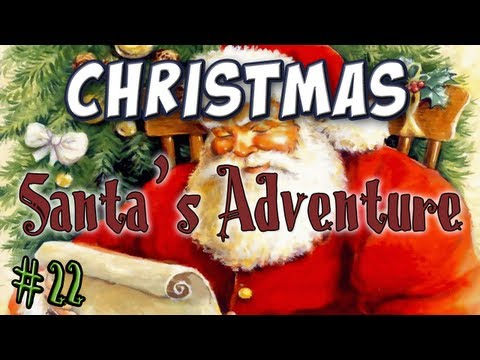 Minecraft - Santa's Adventure Part 1 - Day 22 Advent Calendar Music Videos