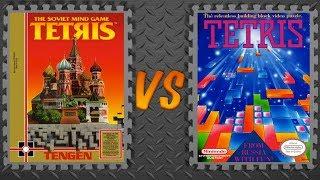 Tetris (Tengen) vs. Tetris (Nintendo)