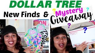DOLLAR TREE HAUL* NEW FINDS & GIVEAWAY (OPEN)