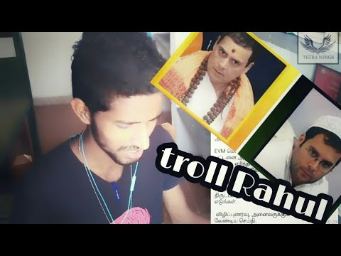 Troll Rahul / Funny WhatsApp messages / TAMIL / MAG PRIME