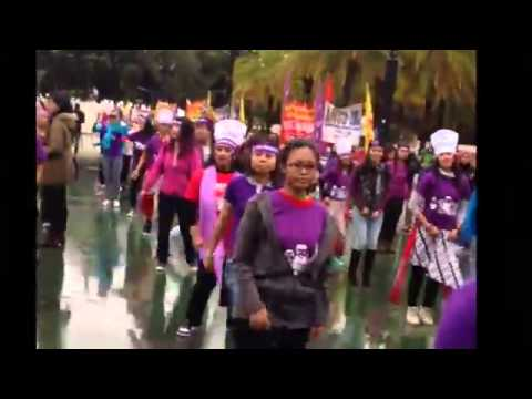 1,500 Foreign domestic workers rise for justice in Hong Kong