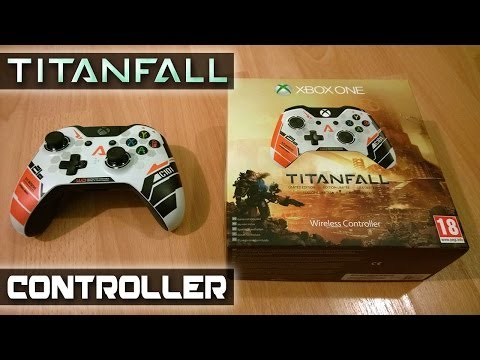 TITANFALL Xbox One Controller Unboxing (Official Limited Edition)