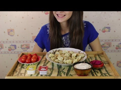 ASMR по-русски Пельмени *без слов!*/ASMR on russian without talking Potstickers