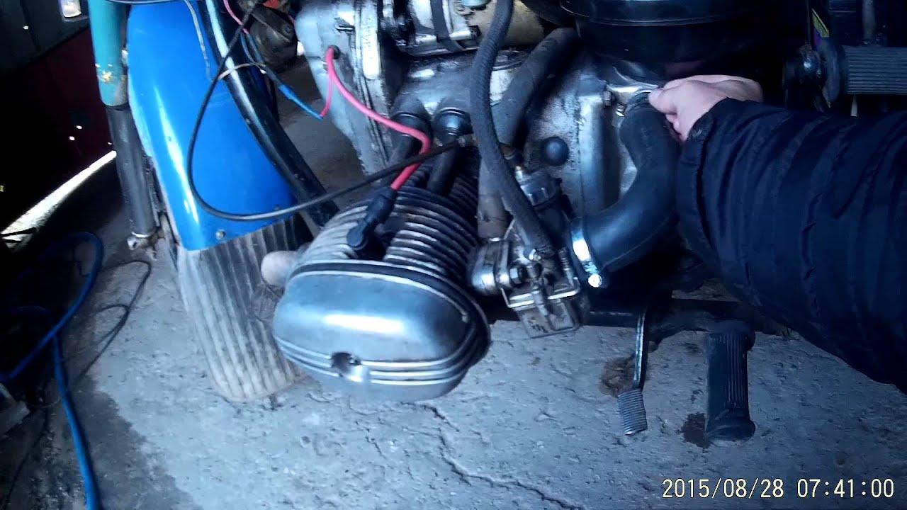 Как установить инжектор на мотоцикл урал