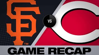 Reds hit five homers en route to victory - 5/4/19