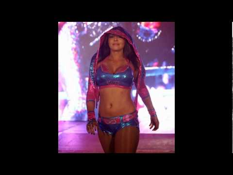 WWE Diva Layla`s Legs and Feet in Tights/Pantyhose