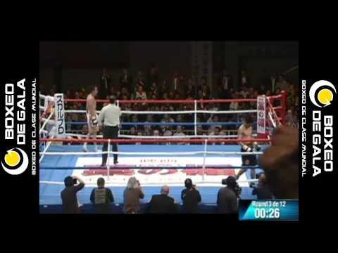 Takashi Miura vs Gamaliel Diaz, Tokio Japón. 08 abril 2013. Boxeo de Gala.