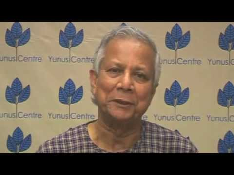 Prof Muhammad Yunus: Africa, economic potential and economic development