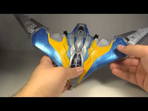 Guardians of the Galaxy Milano Starship Vehicle Toy Review