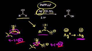 Oxidation of aldehydes using Tollens reagent  Orga
