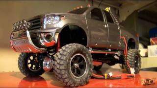 RC ADVENTURES - Tamiya Tundra MASTER WORKS Collection!  Full Sound, Lights, and Kit
