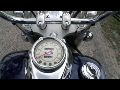 2004 Yamaha V Star 650 classic 0-70mph & country cruise