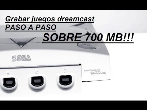 Como grabar juegos dreamcast (SOBRE 700 MB)